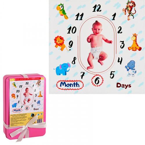 Платно за отбелязване растежа на бебето МОМИЧЕ