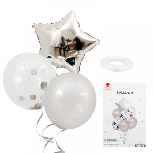 Комплект балони с хелий ЗВЕЗДА