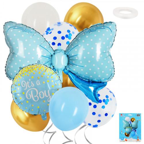 Комплект балони с панделка IT'S A BOY