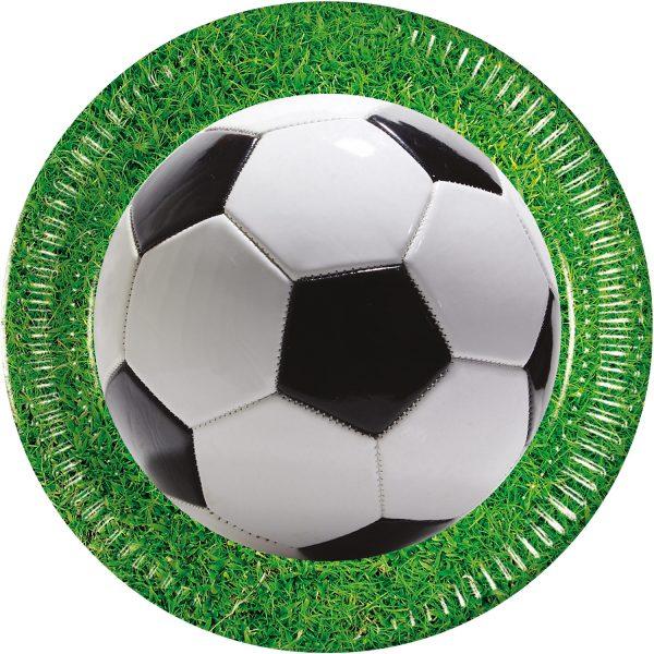 Парти чинийки Футбол
