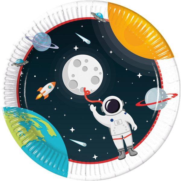 Парти чинийки Космос