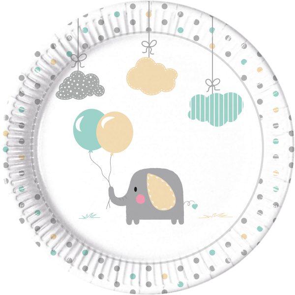 Парти чинийки Слончета