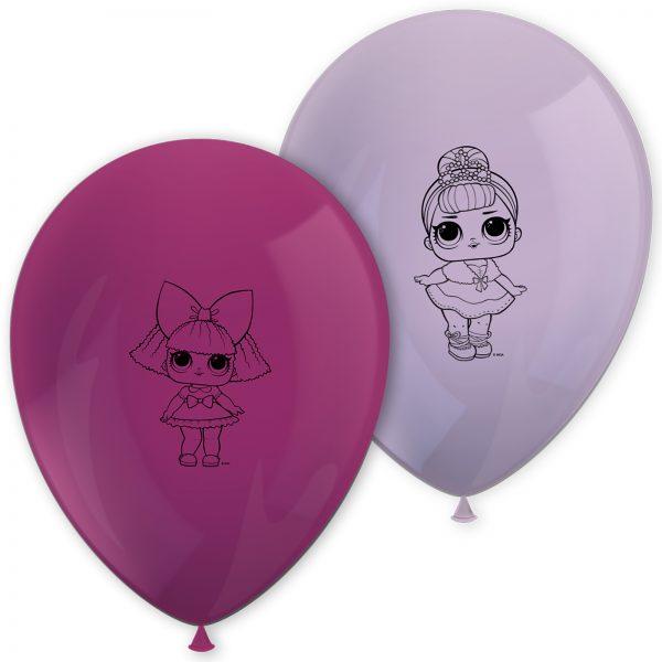 Тематични балони Кукли LOL
