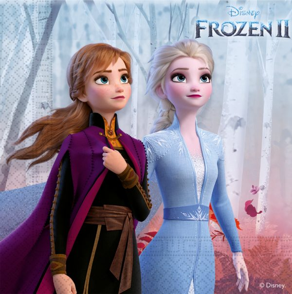 Парти салфетки Замръзналото Кралство (Frozen II)