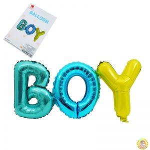 Фолиев надпис BOY