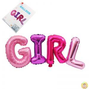 Фолиев надпис GIRL